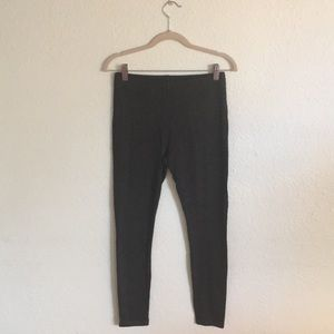 Charcoal herringbone leggings